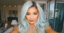 Kylie Mint blue Wig