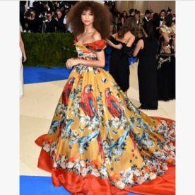Zendaya- Dolce and Gabbana Atla Moda